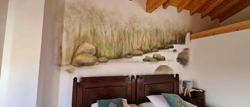 parede quarto água